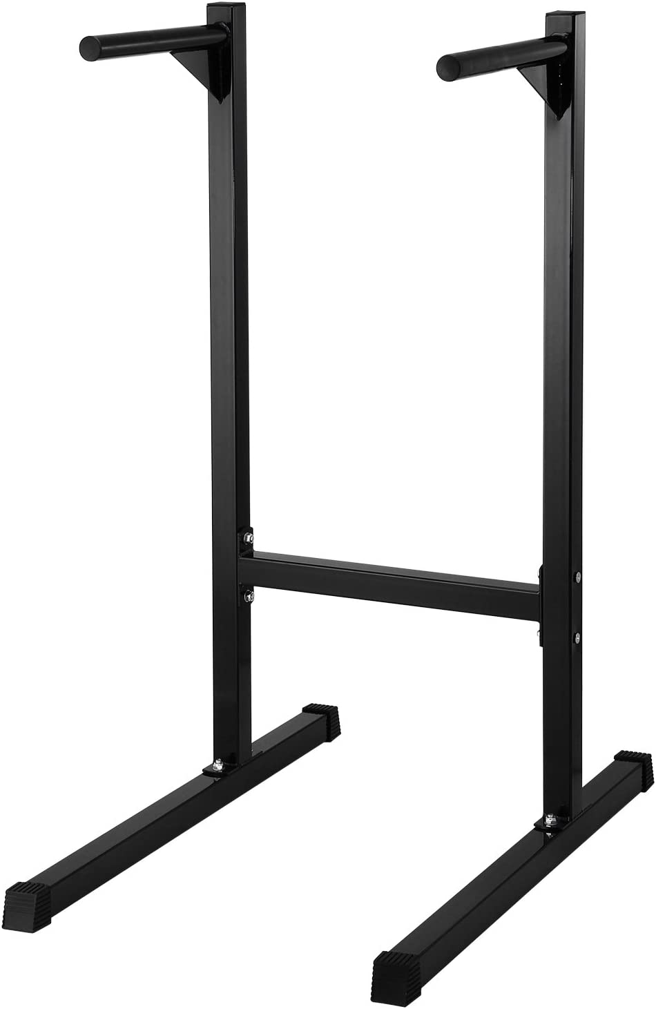 Dipping Station Dip Stand Pull Push Up Bar Fitness Exercise Workout Gym 440lbs Valentines Day Black