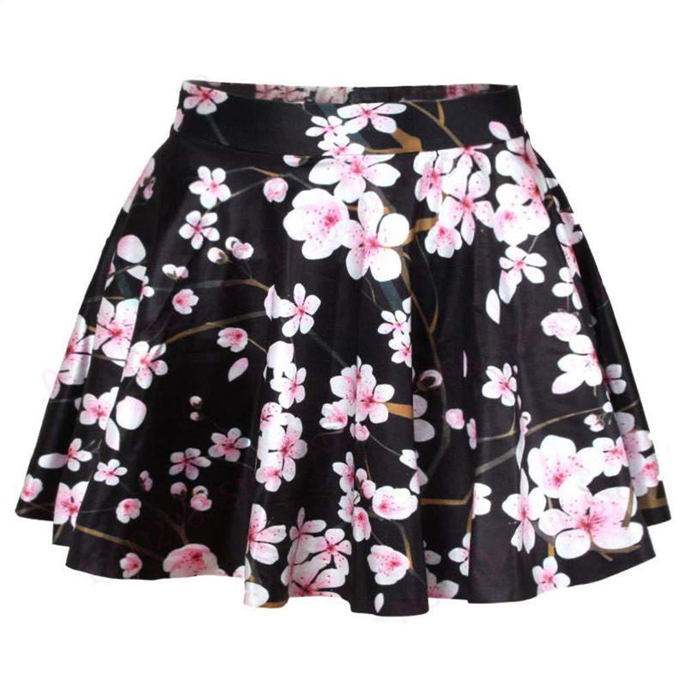 Friedman Printed Miniskirts High Waist Pleated Ball Gown Short Tennis Skirts Clothing Sport Kilts