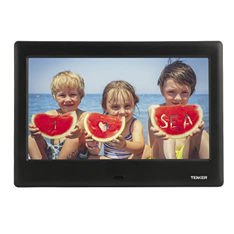 Buy TENKER 7 HD Digital Photo Frame IPS LCD Screen With Auto