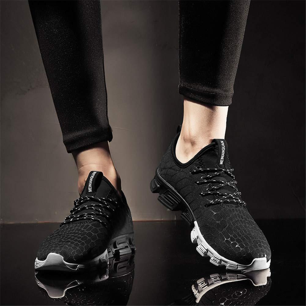 Lxmhz Laufschuhe für Männer Casual Mesh Walking Walking Walking Turnschuhe Breathable Flat Outdoor Sport Tennis Schuhe  9b597f