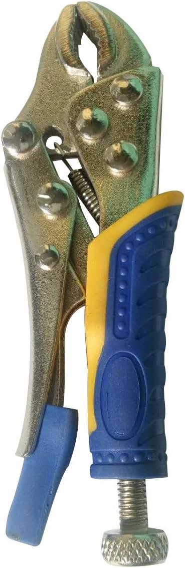 NRG Clever® SCP Mini alicate autoblocante con pinzas con mango aislante para taller, pasatiempos, laboratorios: Amazon.es: Bricolaje y herramientas