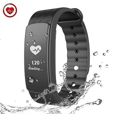 Chereeki Smart Bracelet Heart Rate Smart Band Fitness Tracker With