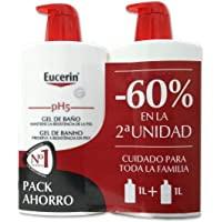EUCERIN PH5 GEL DE BAÑO PACK AHORRO 1L + 1L