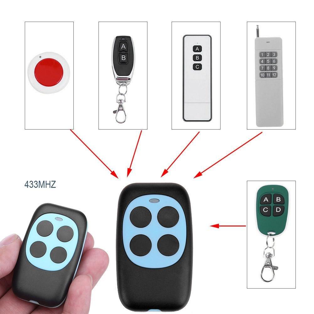 Mikolot Duplicadora de copia PTX4 de control remoto de clonaci/ón autom/ática para garaje rojo