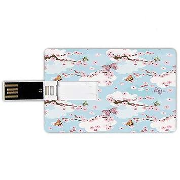 8GB Forma de tarjeta de crédito de unidades flash USB japonés ...