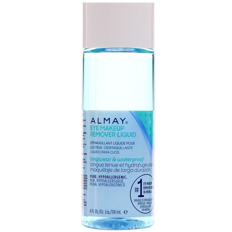 Alm Eye Mkup Removr Lgwr Size 4 Almay Longwear & Waterproof Gentle Eye Makeup Remover Longwear Liquid 4oz