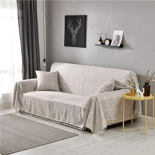 Dabaoliangfen Multiusos Manta para El Sofa Mantas de algodón ...