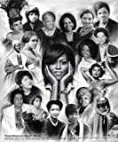Great African American Women  by Wishum Gregory  8x10 Print Poster