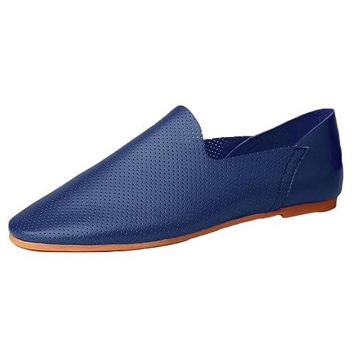 Anguang Hombre Cómodo Negocio Zapatos Mocasín Al Aire Libre Conducción Zapatos Mocasines: Amazon.es: Zapatos y complementos