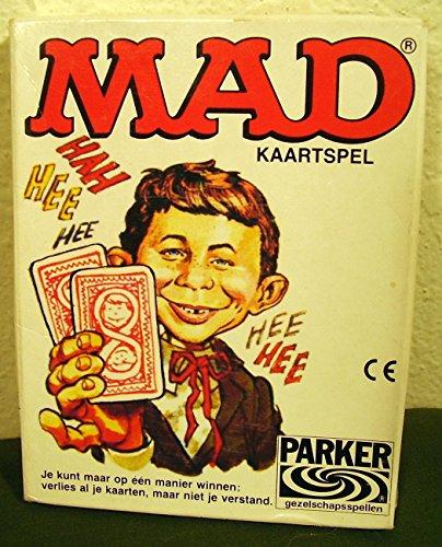 Mad Magazine Card Game German Edition 1980 ()