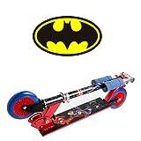 Monopattino a due ruote di Batman , Superman e Flash ! - D'arpeje