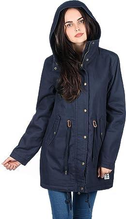 7f3a764afe adidas Winter C Parka – Veste pour Femme, Couleur Bleu Marine/Blanc Taille  32