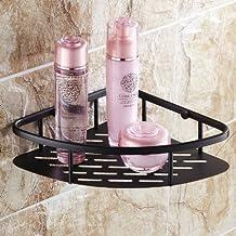 Rozinsanitary NEW Luxury Oil Rubbed Bronze Bathroom Corner Shelf Shower Caddy Cosmetic Storage