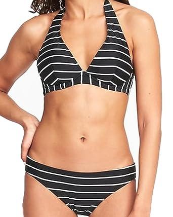 fd1a79fb12 Amazon.com: Underwire Halter Swim Top for Women Included! (Medium): Clothing