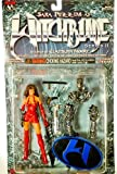 1999 - Top Cow / Moore Action Collectibles - #CM9000 - Witchblade Series II / Sara Pezzini 6 Inch Action Figure - 2 Headed Version - Clayburn Moore Sculpt - Out of Production - New - Mint - Collectible