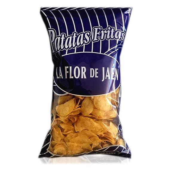 Patatas Fritas La Flor de Jaén 320 gr. - Caja de 8 bolsas ...
