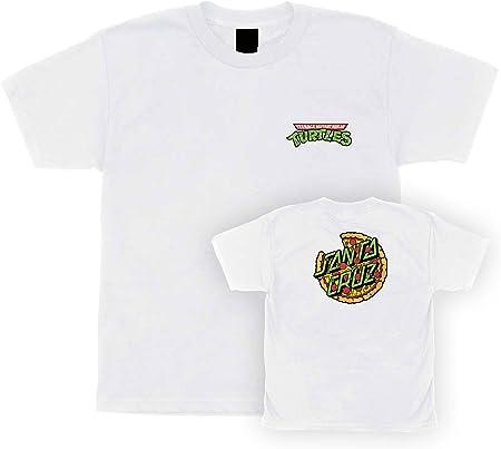 Santa Cruz Camisas para niños Grandes TMNT Pizza Dot