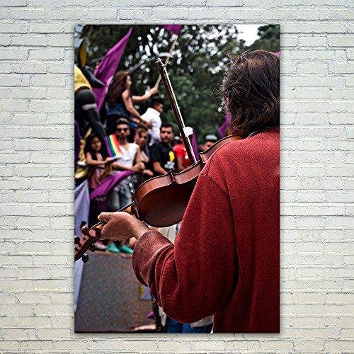 Westlake Art Poster Print Wall Art - Musician Purple - Moder