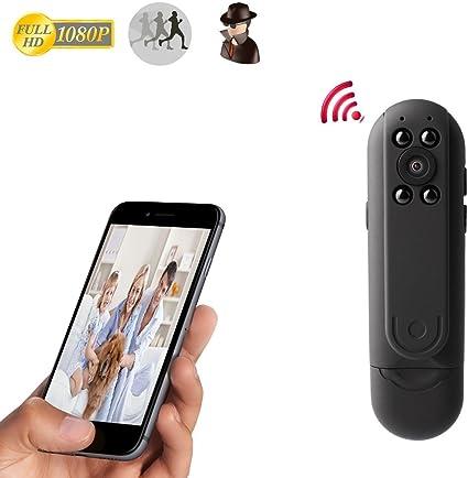 pengbo Wireless interior cámara Mini IP CAM, Full HD 1080p Mini ...
