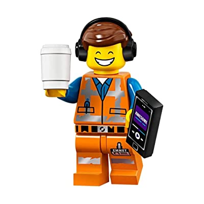 The LEGO Movie 2 Collectible Minifigure - Awesome Remix Emmet (Sealed Pack): Toys & Games