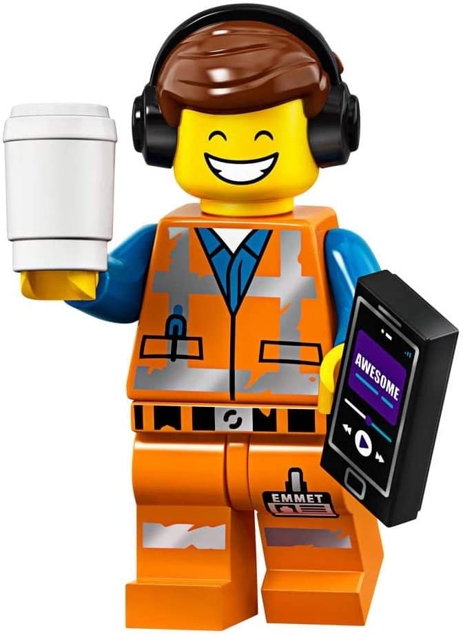 The LEGO Movie 2 Collectible Minifigure - Awesome Remix Emmet (Sealed Pack)