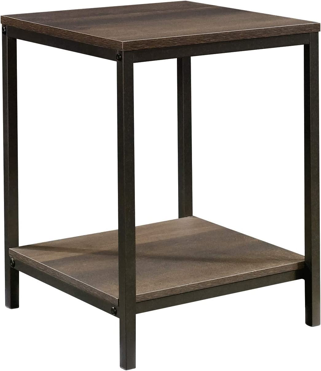 Sauder North Avenue Side Table, Smoked Oak finish