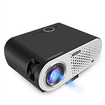 Hot 1280 * 800 LED Lámpara Proyector LCD 3200 lúmenes para Cine en ...