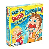 HTI Say It Don't Spray It Party Game - The Hilarious Mouthpiece Mouthguard Board Game - Family Edition