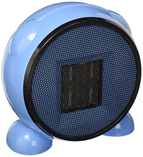 E-joy Ceramic Portable Personal Electric Space Heater, 500W, Blue Ceramic Heaters e-Joy