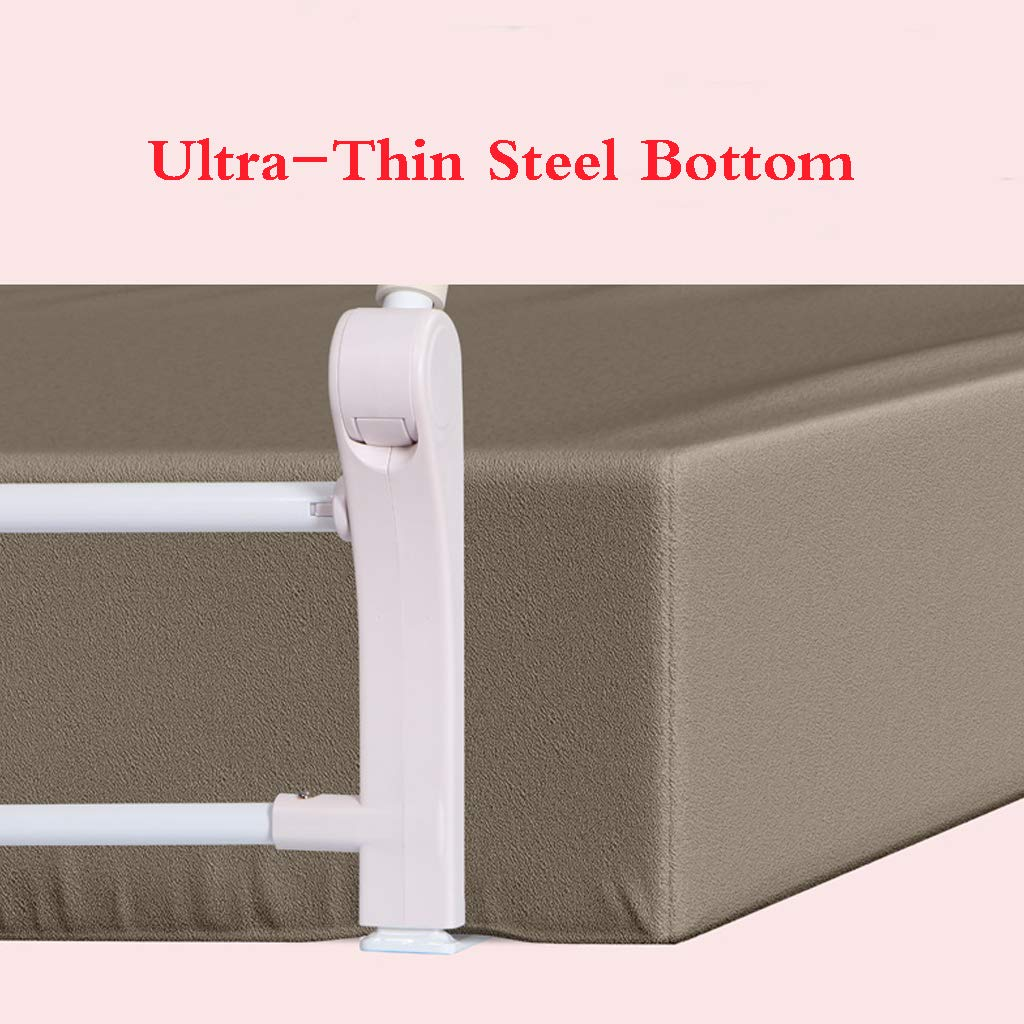 Bed Guard Portable and Foldable Bed Rail Bed Rail for Baby Portable Folding Bed Rail Single Bed Guard Safety Protection Guard for Toddler Baby and Children by SONGTING Guardrail (Image #3)