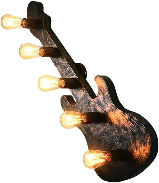 Sharon Estilo Industrial Retro de la Guitarra Restaurante de la ...