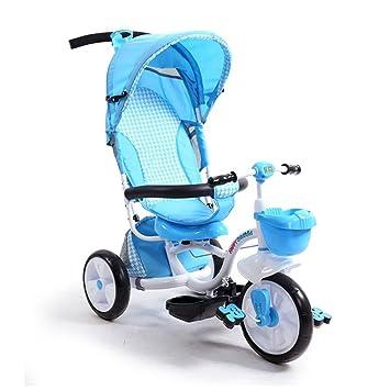 Carrito de bebé Triciclo de niños Bicicleta 1-6 años de Edad ...