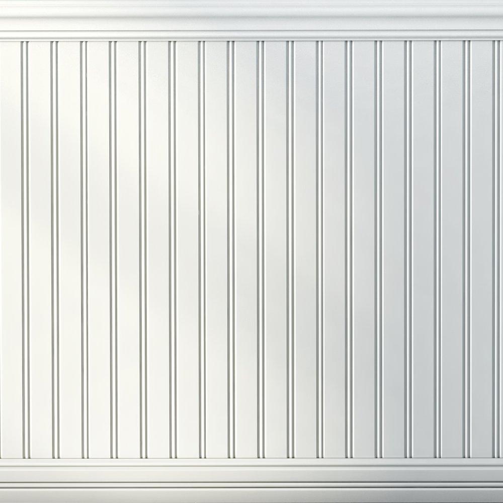 Including Chair Rails /& Base Boards, Boulanger 20822-KIT Primed MDF V-Jointed Wainscot Kit