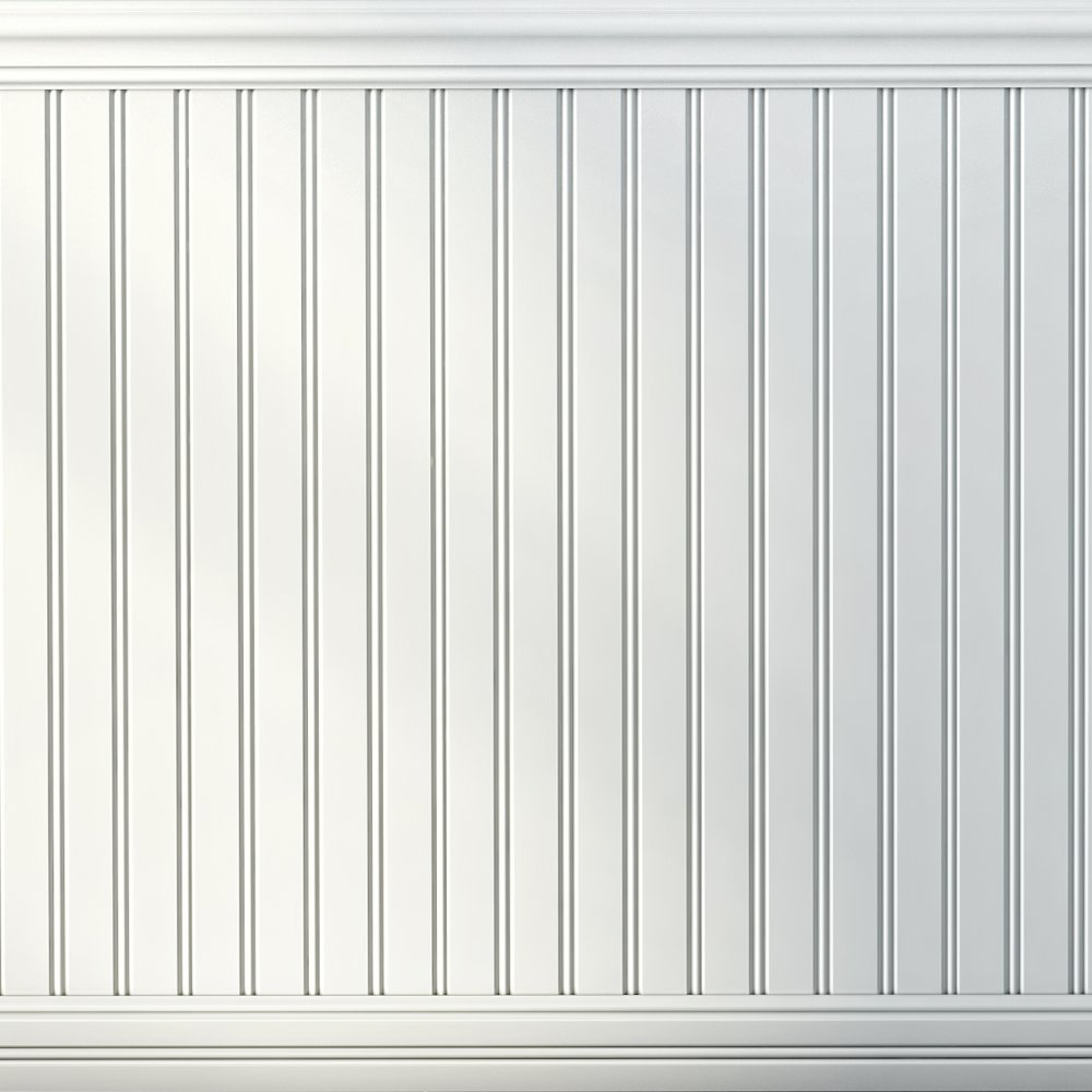 Boulanger 20809-KIT Primed MDF Beaded Wainscot Kit