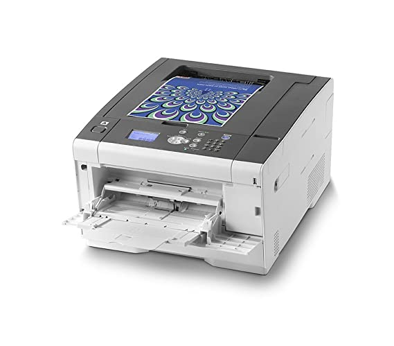 OKI C532DN - Impresora con tecnología laser LED, color blanco: Oki ...