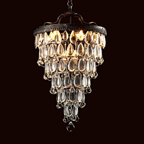 rustic crystal chandelier rococo rustic crystal chandelier raindrop hanging ceiling light fixtures modern round island pendant farmhouse decor for