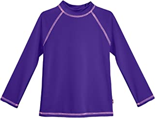 product image for City Threads Girls' SPF50 Rash Guard Sun Swimming Tee Pool & Beach
