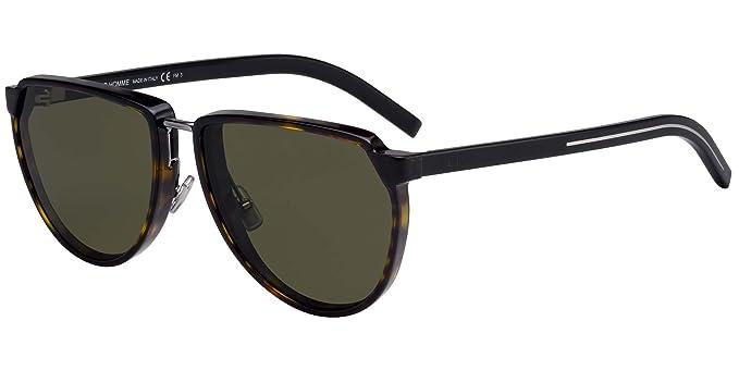 Lunettes de Soleil Dior BLACK TIE 248S HAVANA GREEN homme  Amazon.fr ... 65cf5f6f401