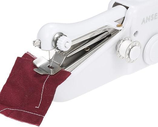 KaIFANG - Máquina de coser portátil de mano con mini puntadas ...