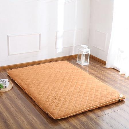 Hxxxy Tatami Floor Mat,Floor Mat Futon Mattress Topper Traditional Japanese  Futon Plenty Thick Queen
