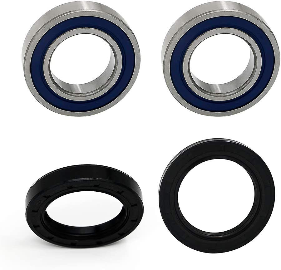 Alpha Rider Rear Wheel Bearing /& Seals Kit For Suzuki King Quad Quadrunner 250 300 4WD LTF LTF300F 4x4 LTF4WDX LT4WD 1 Kit