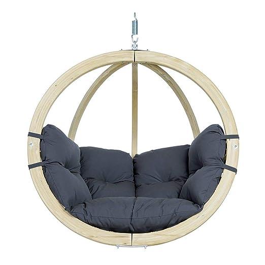 Globo Hangstoel Standaard.Amazonas Hangstoel Globo Chair Anthracite Weatherproof Amazon Es