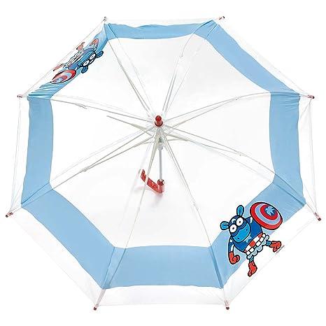 Paraguas kukuxumusu infantil Capitán América