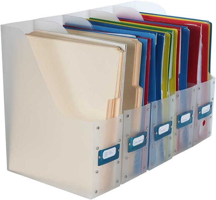 The Best Homex Clear File Holder Organizer