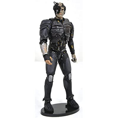 DIAMOND SELECT TOYS Star Trek Select: Borg Drone Action Figure: Toys & Games