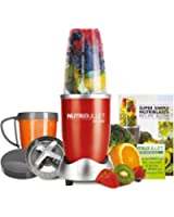 NutriBullet Red 8-Piece Set (As Seen on High Street TV)