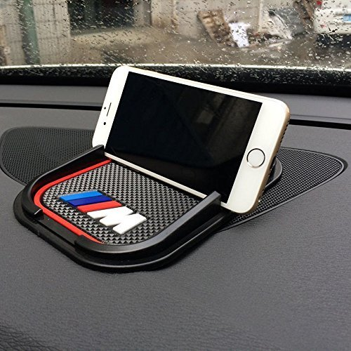 UNAKIM--Car Interior Anti-Slip Silicone Pad ///M Phone Holder Mounts GPS Mat For - Sites India Purchase Online