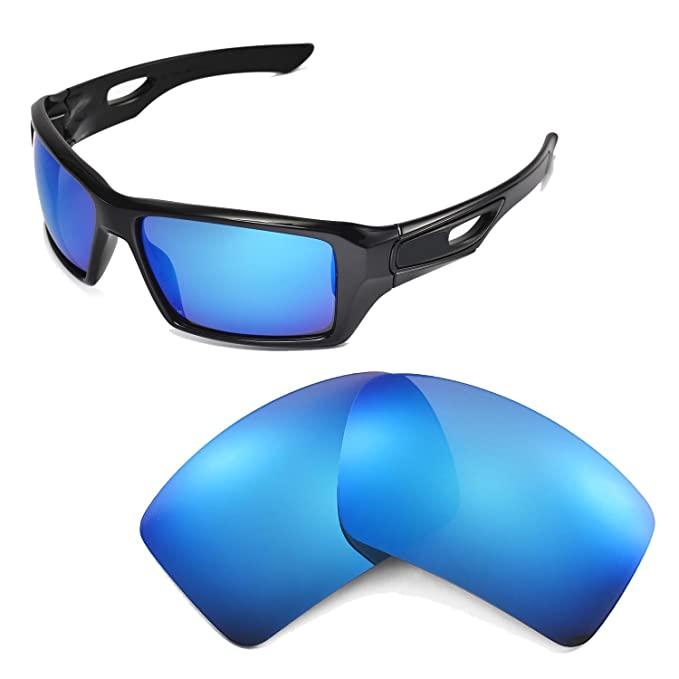4707f92481 Image Unavailable. Image not available for. Color  Walleva Replacement  Lenses for Oakley Eyepatch 2 ...