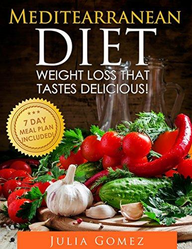 Julia European Dinner - Mediterranean Diet: Weight Loss That Tastes Delicious! (Mediterranean Diet Recipes, Mediterranean Diet Plan, Mediterranean Diet Cookbook, Breakfast Recipes, Dinner Recipes)