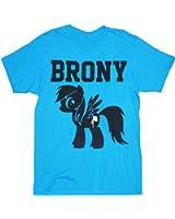 My Little Pony Brony Turquoise Blue men T-Shirt